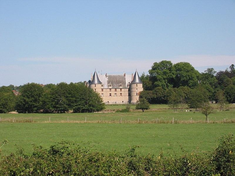 Photo du Monument Historique Château situé à Jaligny-sur-Besbre