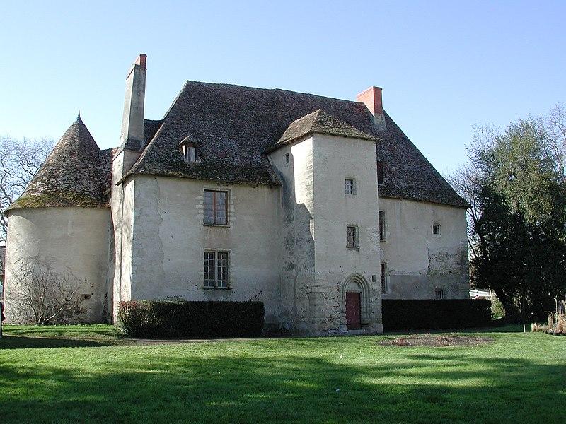 Photo du Monument Historique Château de Jenzat situé à Jenzat