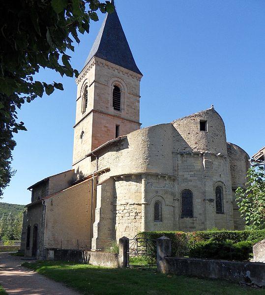 Photo du Monument Historique Eglise Saint-Martin situé à Jenzat