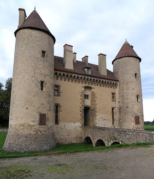 Photo du Monument Historique Château du Bouchat situé à Laféline