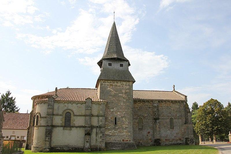 Photo du Monument Historique Eglise Saint-Martin situé à Louroux-Bourbonnais