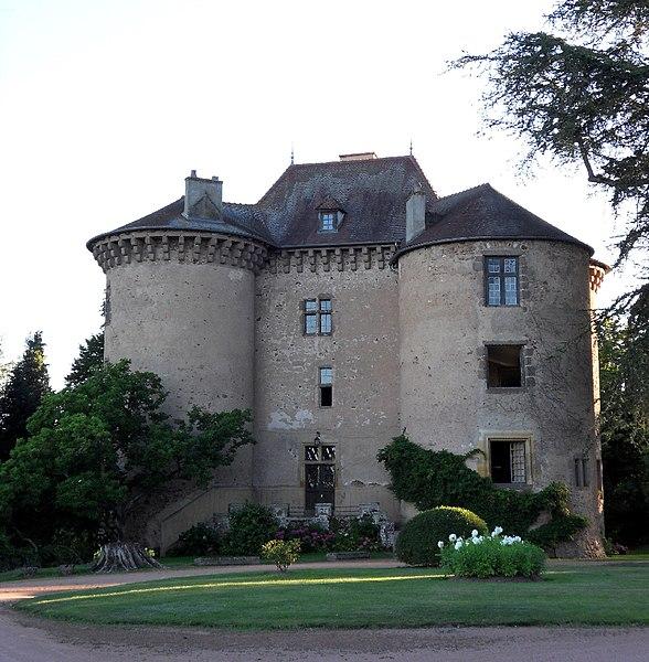 Photo du Monument Historique Château situé à Montaiguët-en-Forez