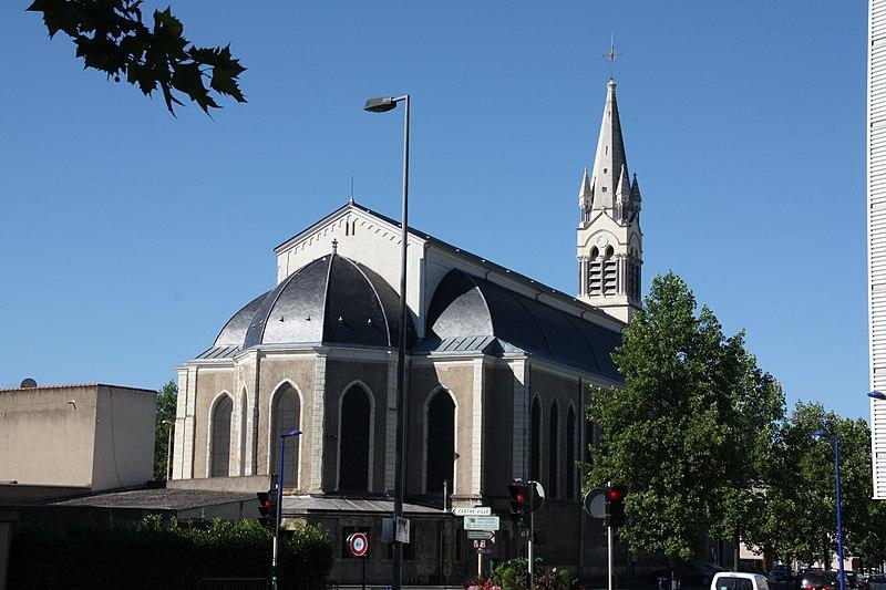 Photo du Monument Historique Eglise Saint-Paul situé à Montluçon
