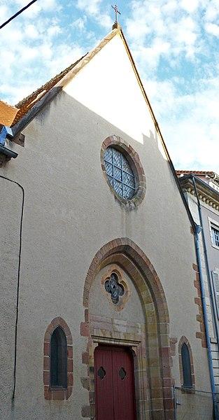 Photo du Monument Historique Chapelle Sainte-Claire situé à Moulins