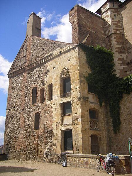 Photo du Monument Historique Ancien château ou Palais des ducs de Bourbon situé à Moulins