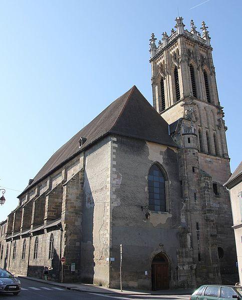 Photo du Monument Historique Eglise Saint-Pierre situé à Moulins