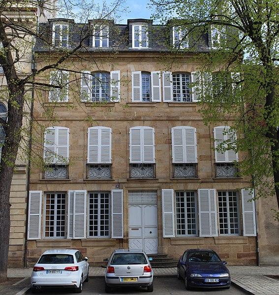 Photo du Monument Historique Hôtel de Ballore situé à Moulins