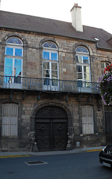 Photo du Monument Historique Ancien hôtel de la Feronnays situé à Moulins