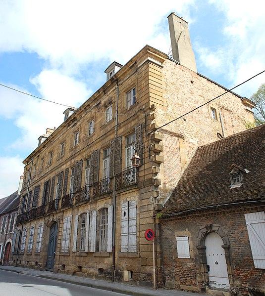 Photo du Monument Historique Ancien hôtel de Rougé, hôtel Vic de Pontgibaud situé à Moulins