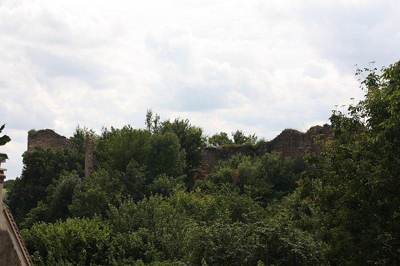 Photo du Monument Historique Restes du château situé à Murat