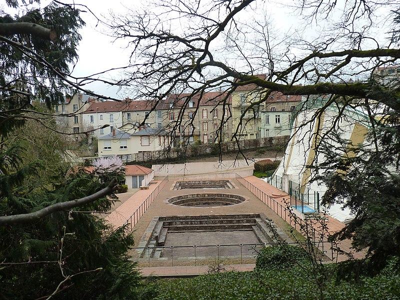 Photo du Monument Historique Ancien camp romain des Chaudes situé à Néris-les-Bains