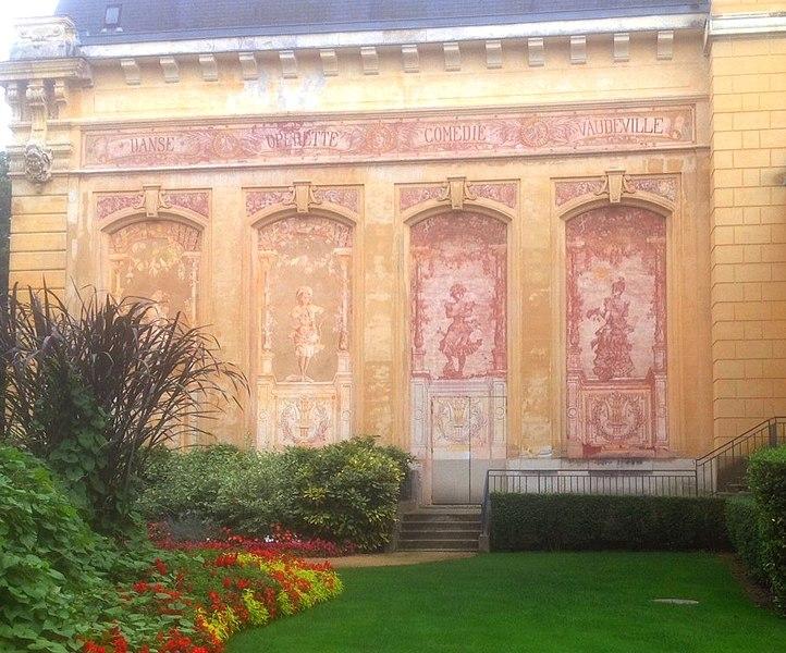 Photo du Monument Historique Casino situé à Néris-les-Bains