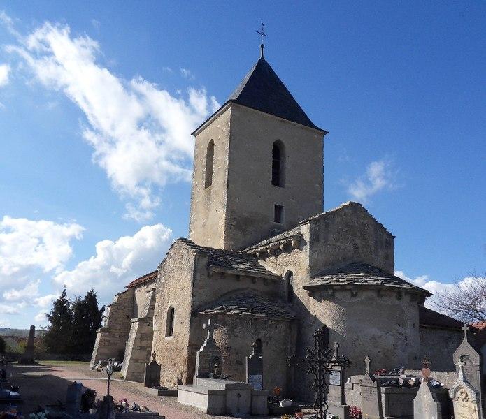 Photo du Monument Historique Eglise Saint-Julien situé à Poëzat