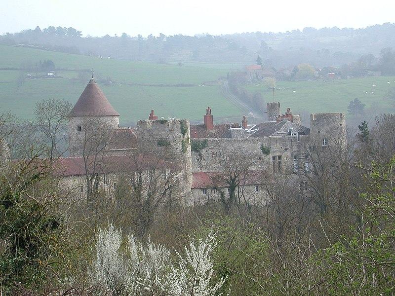 Photo du Monument Historique Château de Rochefort situé à Saint-Bonnet-de-Rochefort