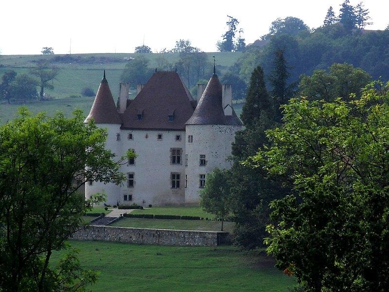 Photo du Monument Historique Château de Verseilles situé à Saint-Etienne-de-Vicq