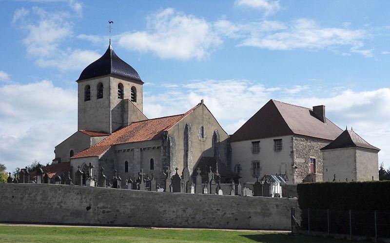 Photo du Monument Historique Eglise Notre-Dame situé à Saint-Germain-des-Fossés