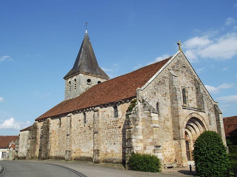 Photo du Monument Historique Eglise Saint-Placide situé à Saint-Plaisir