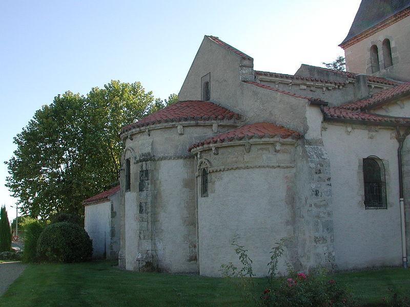 Photo du Monument Historique Eglise Saint-Mayeul-et-Saint-Pont situé à Saint-Pont