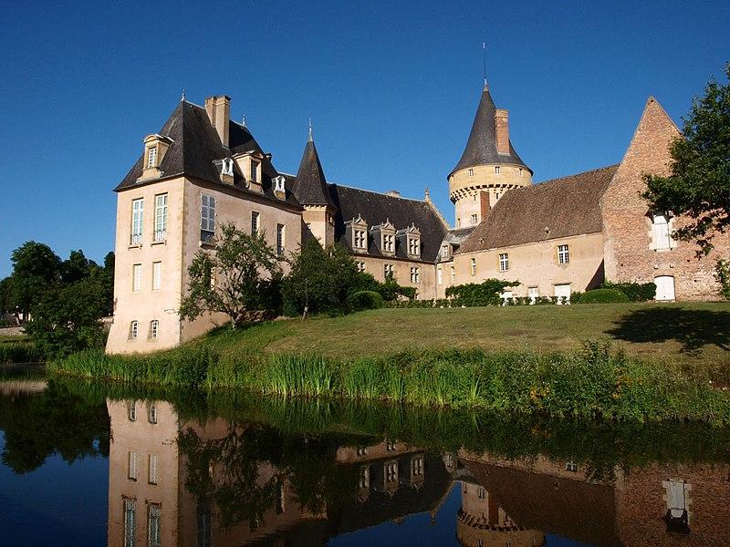 Photo du Monument Historique Château de Saligny situé à Saligny-sur-Roudon