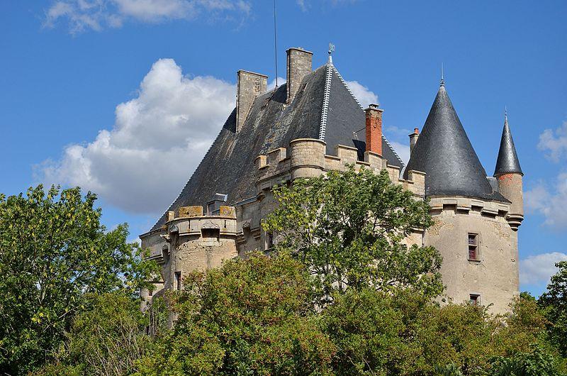 Photo du Monument Historique Château de Beauverger situé à Saulzet