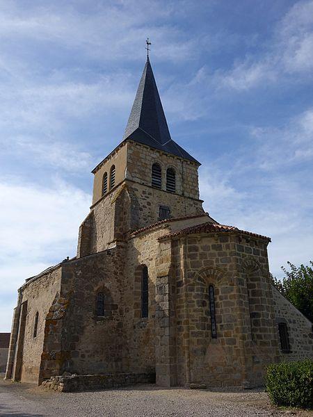 Photo du Monument Historique Eglise Saint-Laurent situé à Sazeret