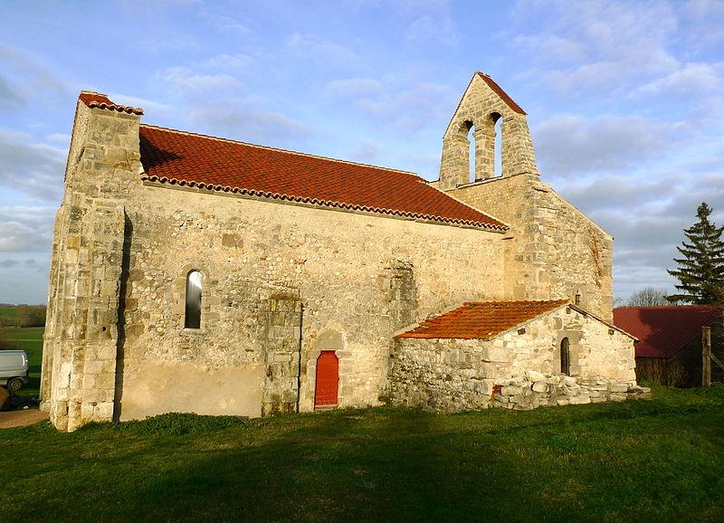 Photo du Monument Historique Ancienne église Saint-André de Taxat situé à Taxat-Senat