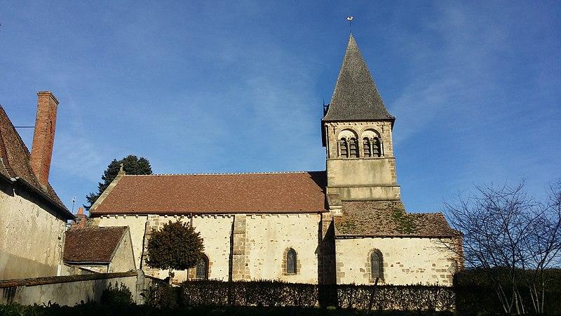 Photo du Monument Historique Eglise Saint-Pierre situé à Theneuille