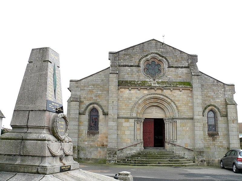 Photo du Monument Historique Eglise Saint-Maurice situé à Tronget