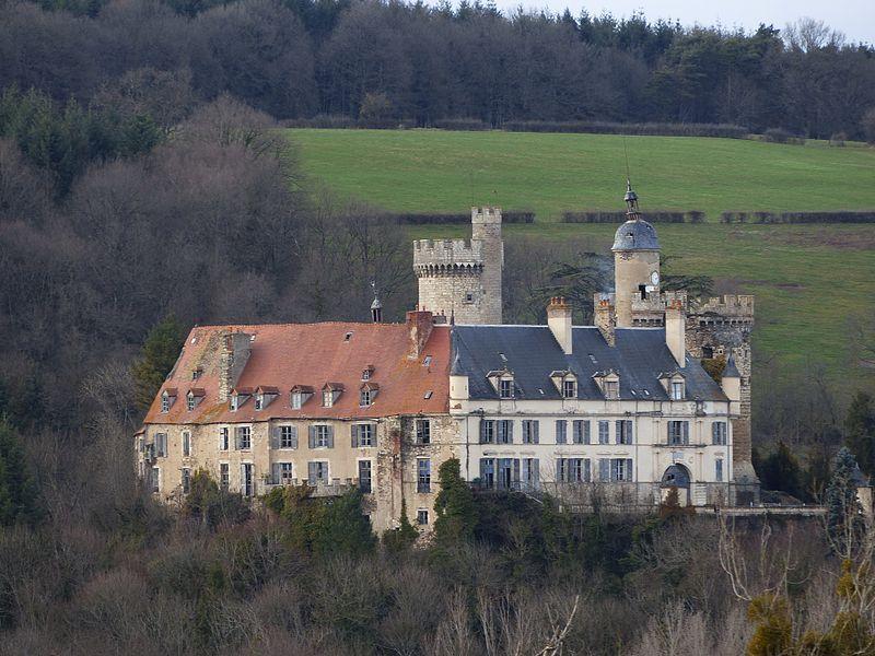 Photo du Monument Historique Château de Veauce situé à Veauce