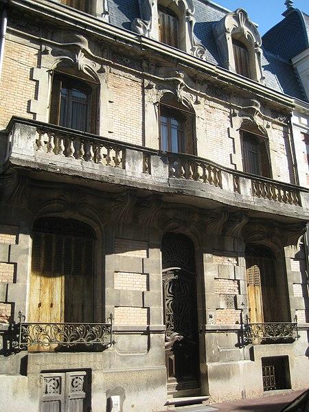 Photo du Monument Historique Villa Art Nouveau situé à Vichy