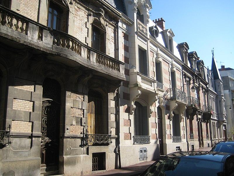 Photo du Monument Historique Villa Le Mesnil situé à Vichy