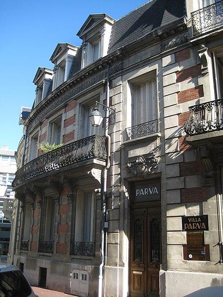 Photo du Monument Historique Villa Parva situé à Vichy