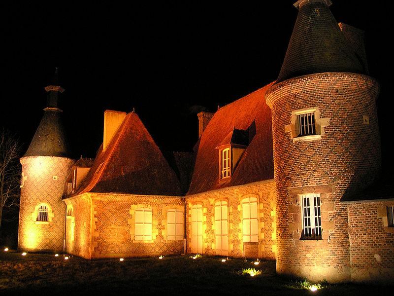Photo du Monument Historique Château de Panloue situé à Yzeure