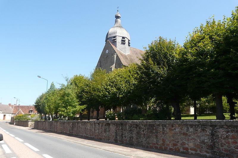 Photo du Monument Historique Eglise Saint-Martin situé à Urçay