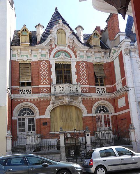 Photo du Monument Historique Villa Anne-Marie situé à Vichy
