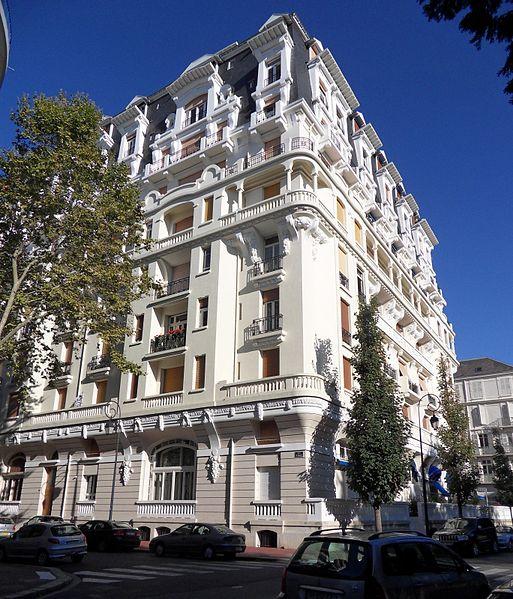 Photo du Monument Historique Ancien hôtel Ruhl situé à Vichy