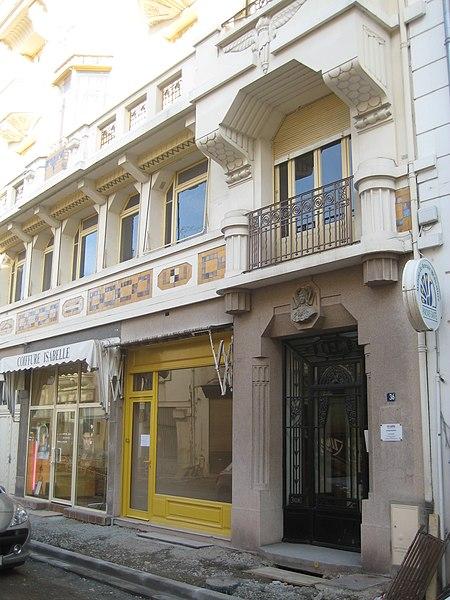 Photo du Monument Historique Immeuble situé à Vichy