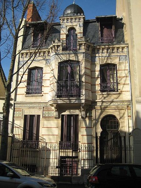 Photo du Monument Historique Villa mauresque situé à Vichy