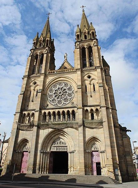 Photo du Monument Historique Eglise du Sacré-Coeur situé à Moulins