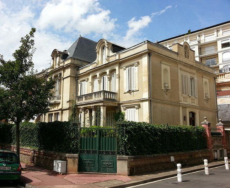 Photo du Monument Historique Villa du Docteur Frémont situé à Vichy