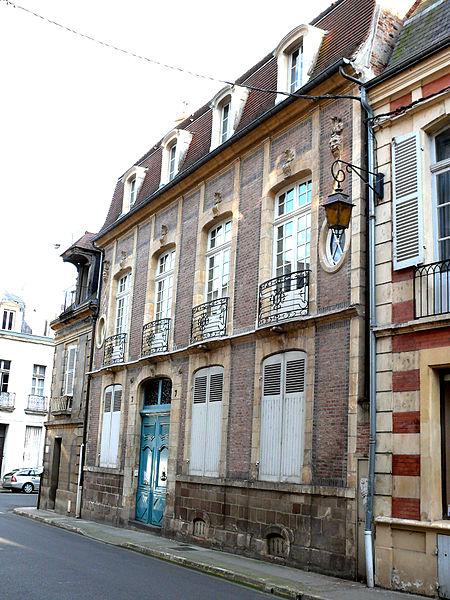 Photo du Monument Historique Hôtel particulier situé à Moulins