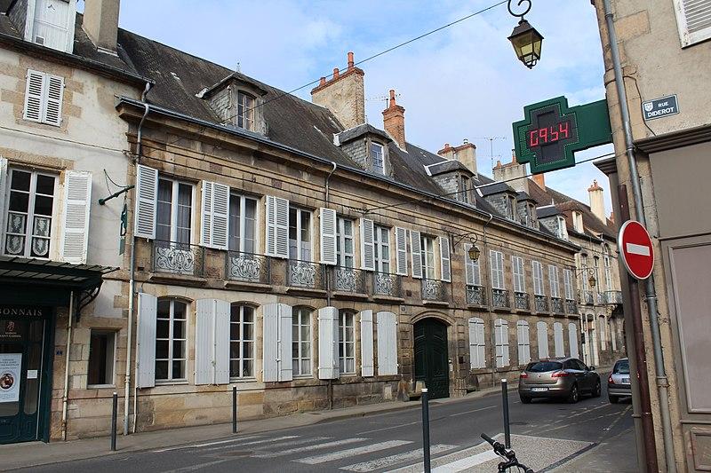 Photo du Monument Historique Hôtel Dubuisson de Douzon situé à Moulins