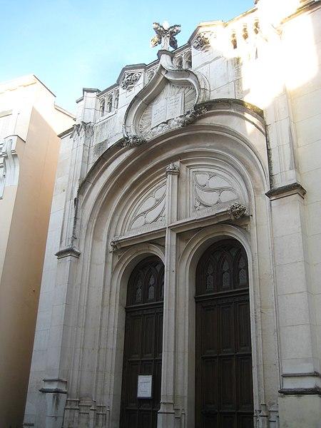 Photo du Monument Historique Temple protestant situé à Vichy