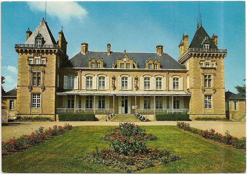 Photo du Monument Historique Château des Echerolles situé à La Ferté-Hauterive