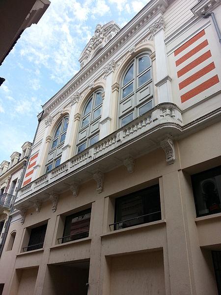 Photo du Monument Historique Casino  le Cercle international situé à Vichy