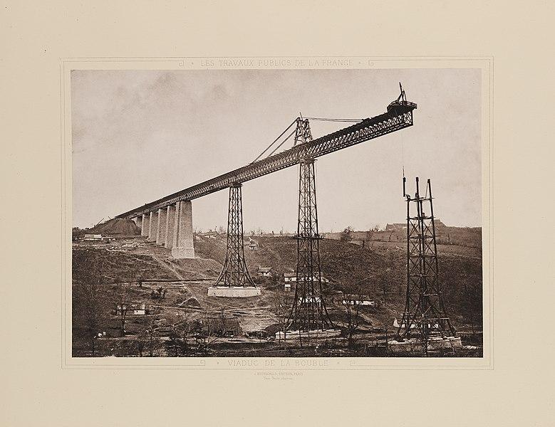 Photo du Monument Historique Viaduc de La Bouble (également sur commune de Louroux-de-bouble) situé à Echassières