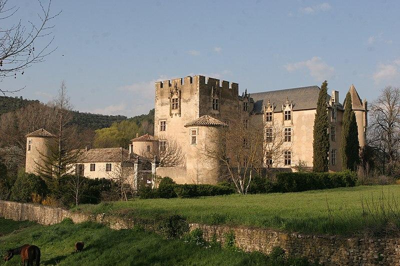 Photo du Monument Historique Château situé à Allemagne-en-Provence