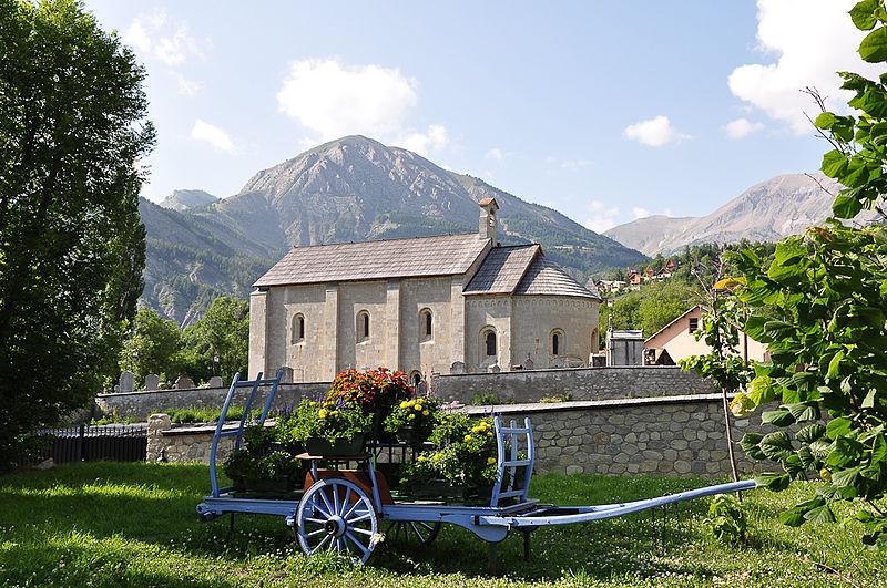 Photo du Monument Historique Eglise Notre-Dame-de-Valvert situé à Allos