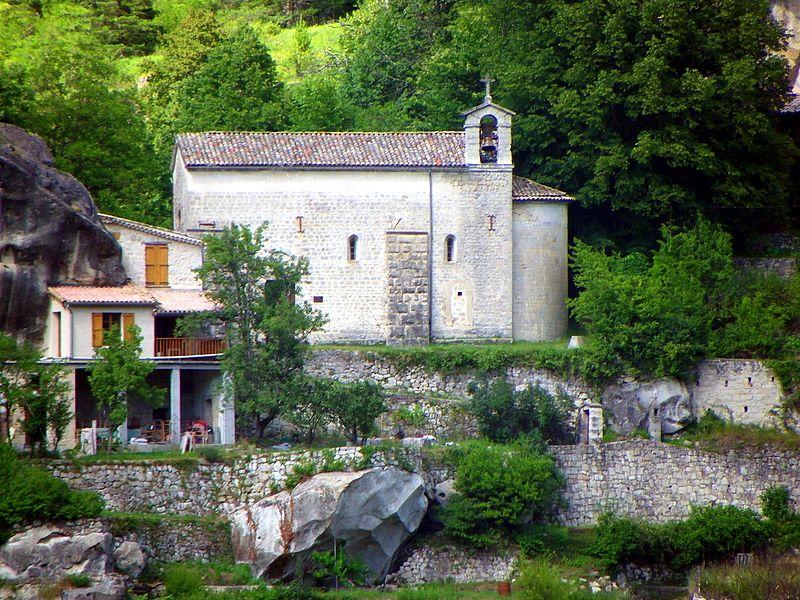 Photo du Monument Historique Chapelle de Vers-la-Ville situé à Annot