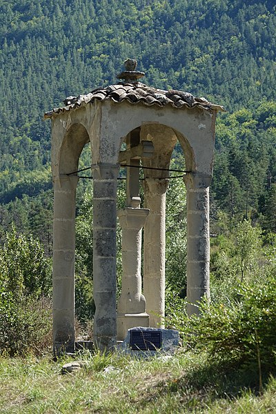 Photo du Monument Historique Croix couverte situé à Annot